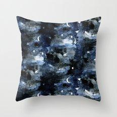 Twilight Night Sky Throw Pillow