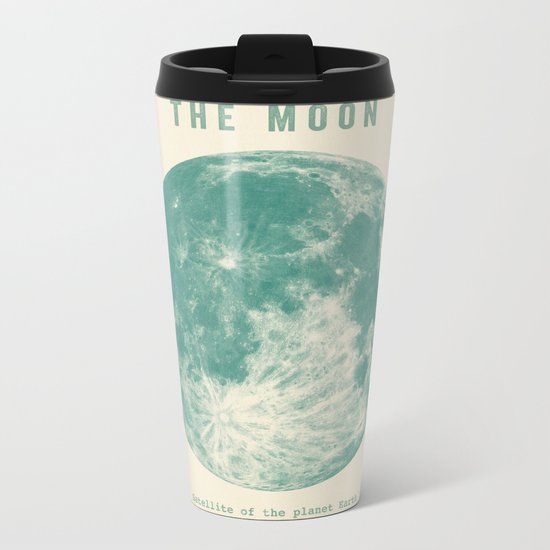 Satellite of the planet Earth  Metal Travel Mug