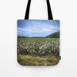 Cotton Fields  Tote Bag