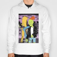 boys Hoodies featuring Bad Boys by Jack Teagle