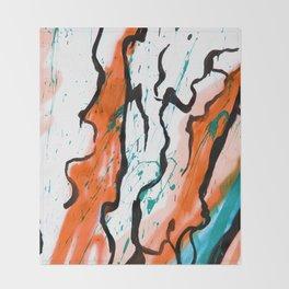 Artsy Painter  Throw Blanket