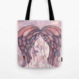 Shimmer Wings, Watercolor Painting, Wall Art, Watercolor Art, Wings, Angels, Ethereal Art Tote Bag