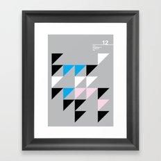 12_wingdings3_7a Framed Art Print