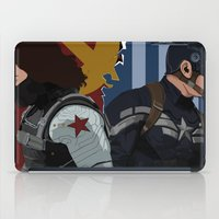 the winter soldier iPad Cases featuring Winter Soldier by Evan Tapper