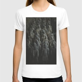 Terra-cotta Warriors of Xian China T-shirt