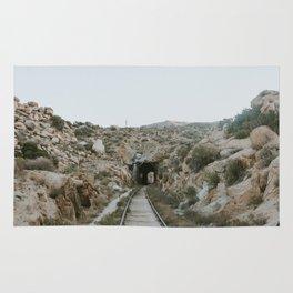 Train Tunnel Rug