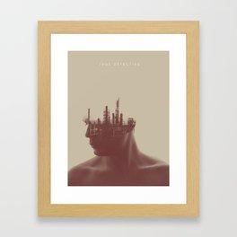 True Detective Framed Art Print