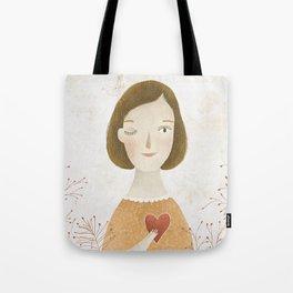Big Heart Tote Bag