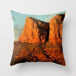 RED ROCKS - SEDONA ARIZONA Throw Pillow
