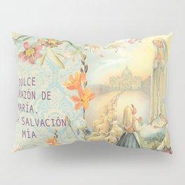 Virgen de Fátima Pillow Sham