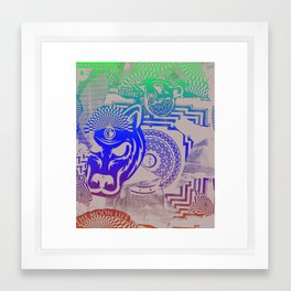 We Were Born To Be Electric Framed Art Print
