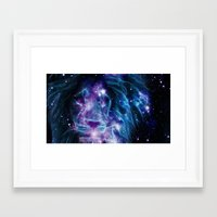 leo Framed Art Prints featuring Leo by 2sweet4words Designs