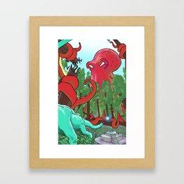 Part 5: Stealing the Scepter  Framed Art Print