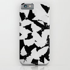 Black Bird Wings on Grey iPhone 6s Slim Case