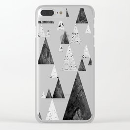 Pyramid-Valley Clear iPhone Case