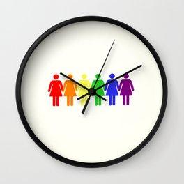 Femenism Wall Clock