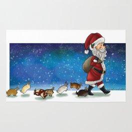 Santa's Squishy Crew Rug