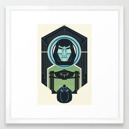 Tron Legacy Framed Art Print