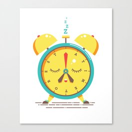 A Time To Rest ENGLISH VERSION Canvas Print