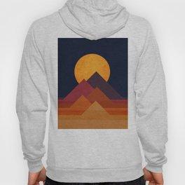 Full moon and pyramid Hoody