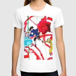 Marin Marais ` La grande spectre de la Rose' T-shirt