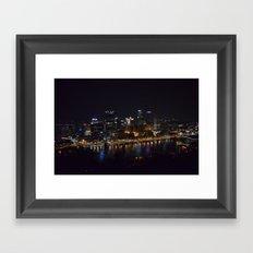 Pittsburgh Tour Series - City Framed Art Print