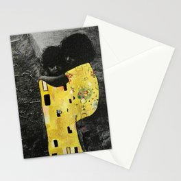 Kiss. Collage series Stationery Cards
