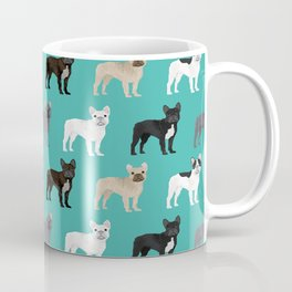French Bulldog pattern dog breed must have gifts for frenchie owner pillows decor Coffee Mug