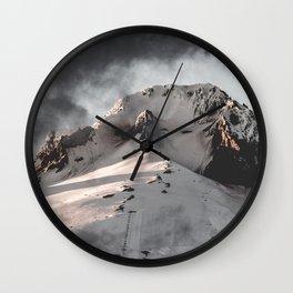 Mountain Moment III Wall Clock