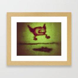 Vintage Goblin Framed Art Print