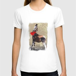 Okapi  with Red Bow T-shirt