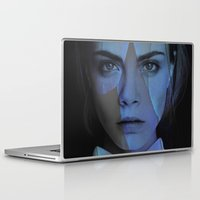cara delevingne Laptop & iPad Skins featuring Cara Delevingne  by TRUANGLES