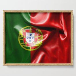 Portugal Flag Serving Tray