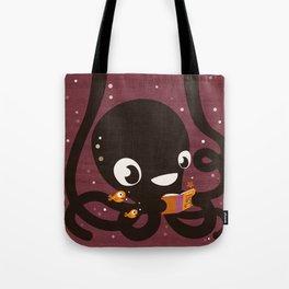 Octopus Book Bag Tote Bag