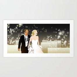 Banquet Wedding Art Print