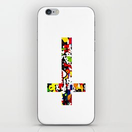 Cross colours iPhone Skin