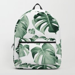 Tropical Monstera Pattern #2 #tropical #decor #art #society6 Backpack