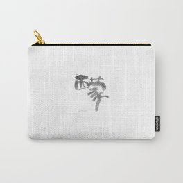 Simon_Name_Abstract_Calligraphy_typo_Chinese Word_07 Carry-All Pouch