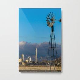 Colorado Windmill Metal Print