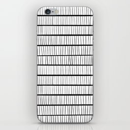 line pattern iPhone Skin