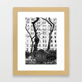 Tombstone  Framed Art Print