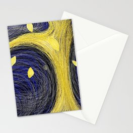 Golden Light Tree - Golden Light 3 Stationery Cards