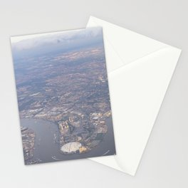 London From The Air Stationery Cards