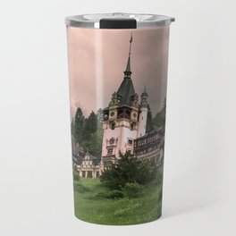 Peles Castle Romania Travel Mug
