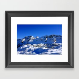 Dolomite view 1 Framed Art Print