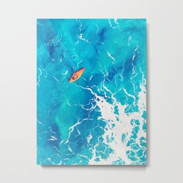 Kayak-Itti-Yak Metal Print