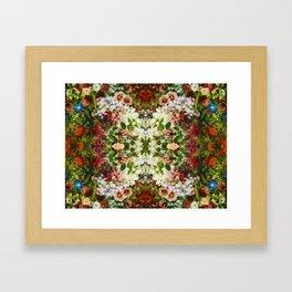 French Flowers Framed Art Print