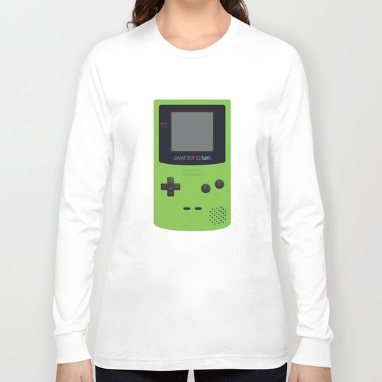 GAMEBOY Color - Green Long Sleeve T-shirt