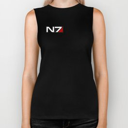 Mass Effect N7 emblem Biker Tank