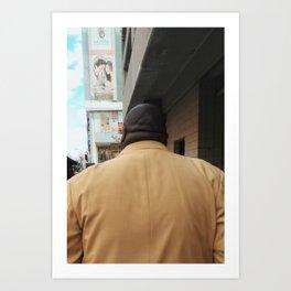 Man in Japan Art Print